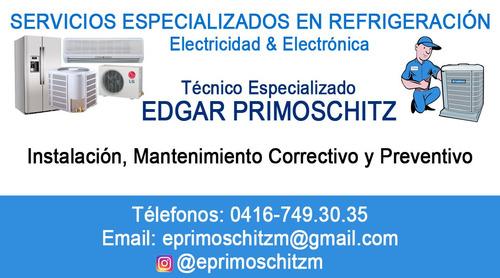 servicio especializado refrigeracion-electricidad-electronic