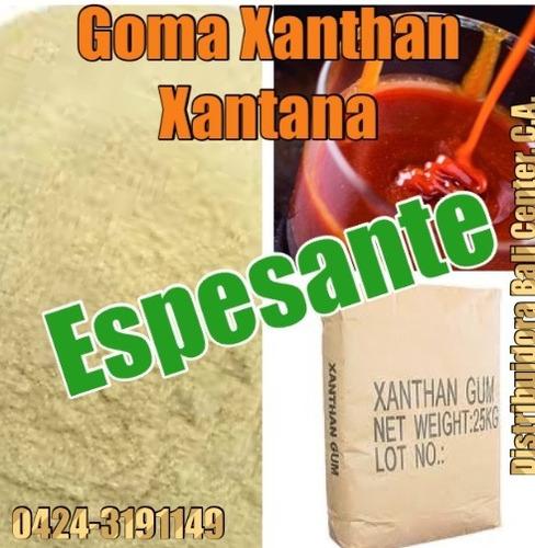 servicio espesante goma xantana goma xanthan alimento tecnic