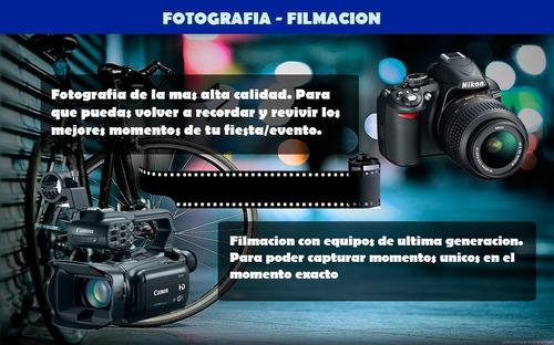 servicio fotográfico eventos zona oeste