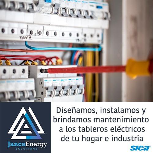 servicio general eléctrico, tendido y mantenimiento
