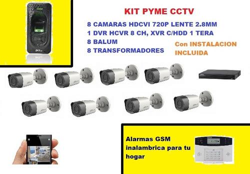 servicio instalación, reparación y mantencion cctv, alarmas