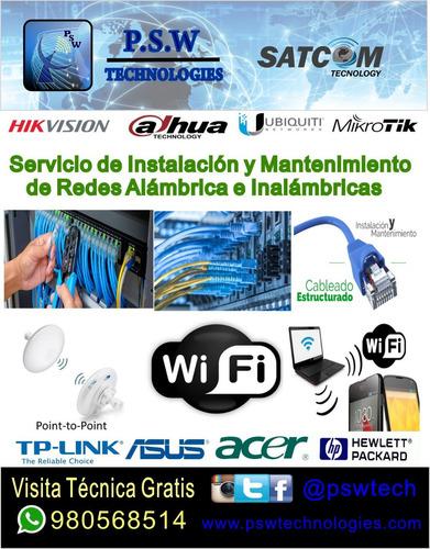 servicio  instalacion y mantenimiento de camara de seguridad