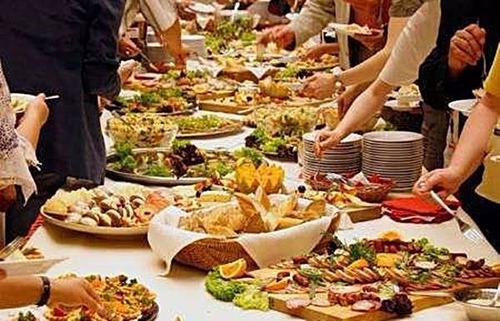 servicio integral de vajilla,manteleria y mozos catering jv