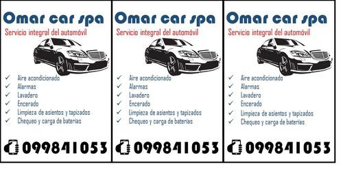 servicio integral del automóvil.