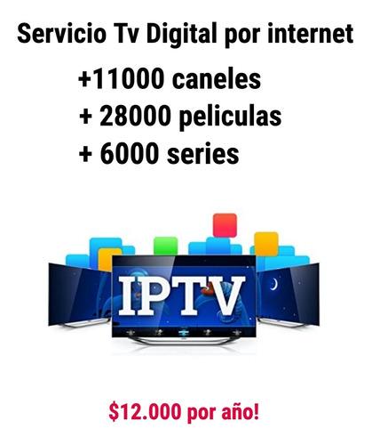 servicio iptv television digital por internet