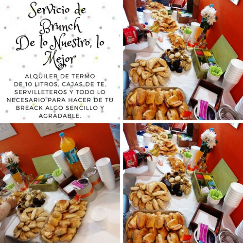 servicio lunch eventos