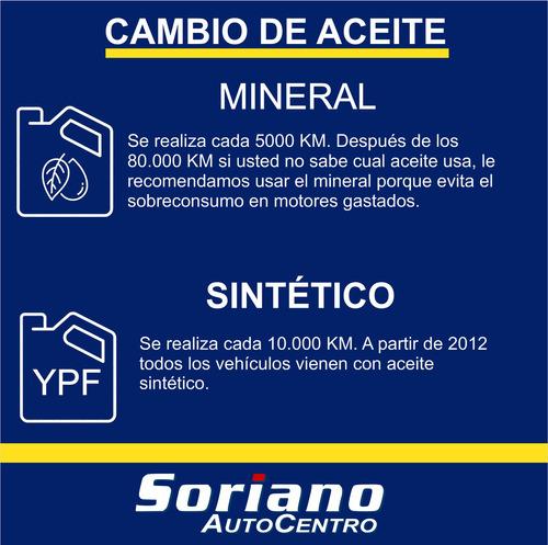 servicio mantenimiento fiat elba mineral 10.000 km