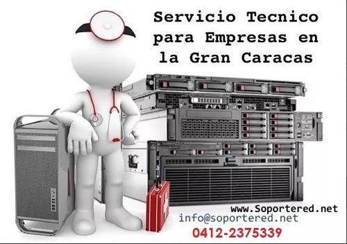 servicio mantenimiento técnico redes servidores empresas