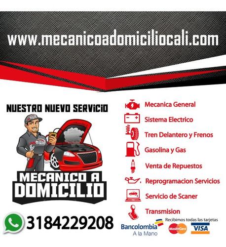 servicio mecánico a domicilio en cali, mecánico automotriz