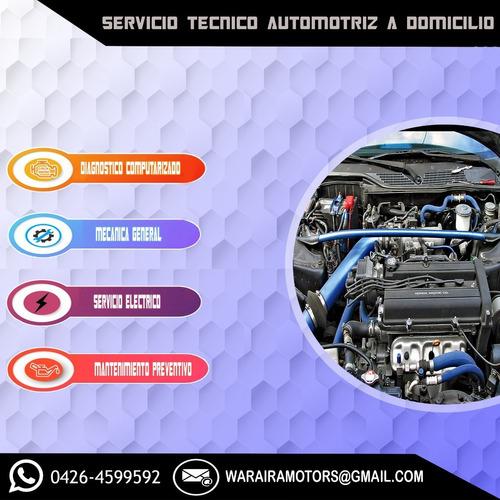 servicio mecánico automotriz a domicilio