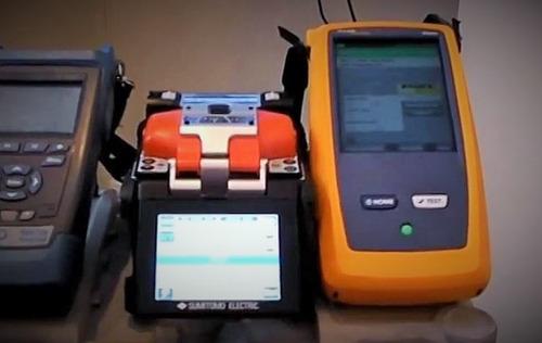 servicio medicion certificación y empalme fibra optica sm mm