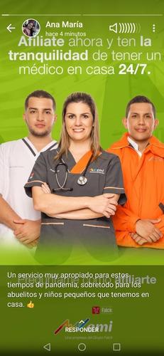 servicio médico en casa