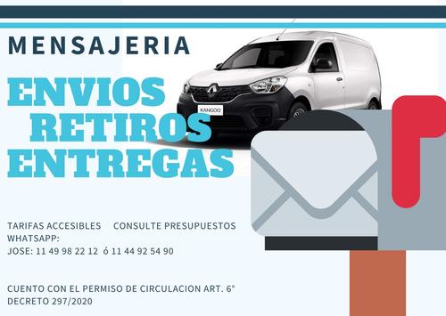 servicio mensajeria, encomiendas