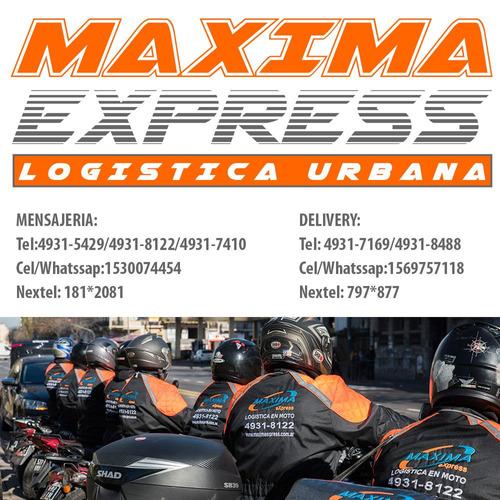 servicio mensajeria moto agencia de delivery tel:4931-7169