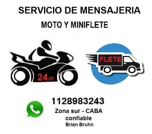 servicio mensajeria por