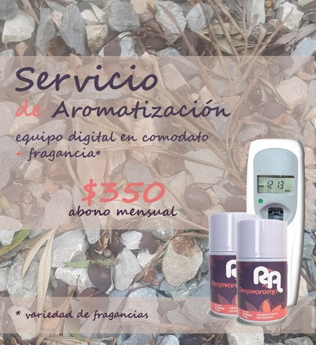 servicio mensual de aromatizacion para empresas u hogares
