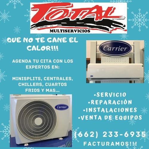 servicio minisplit, aire acondicionado y mas!!!