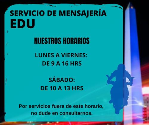 servicio moto mensajería cadetería encomienda flex caba gba