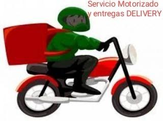 servicio motorizado encomiendas y delivery