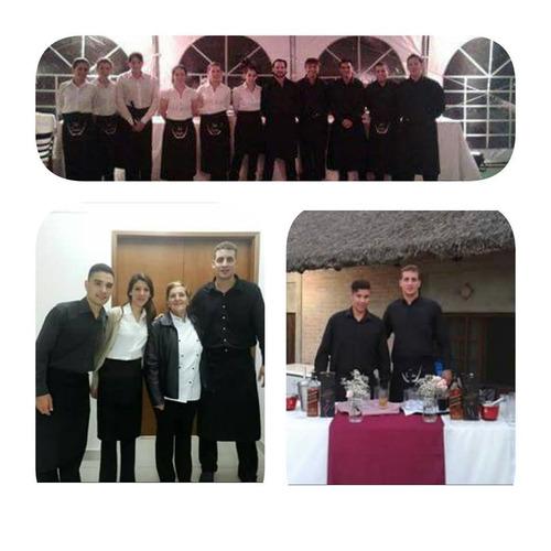 servicio mozos fiestas eventos