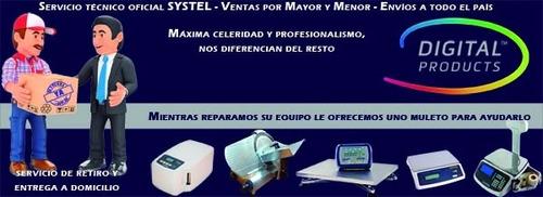 servicio oficial dynam y systel balanzas cortadoras fiambre