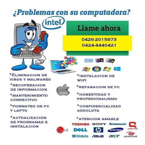 servicio para pc, laptop e impresoras