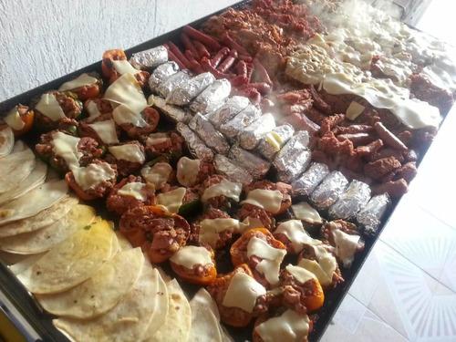 servicio  parrillada mesas  de dulces fiestas temáticas