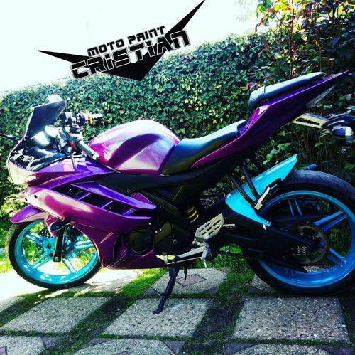 servicio pintura motos