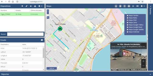 servicio plataforma monitoreo gps tracker