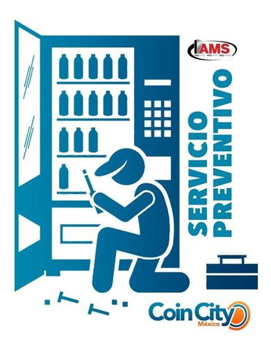servicio preventivo máquina vending ams (local)