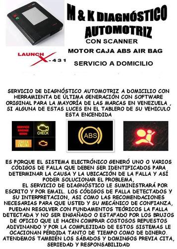 servicio prof escaneo escaner chery araucax1 tiggo orinoco