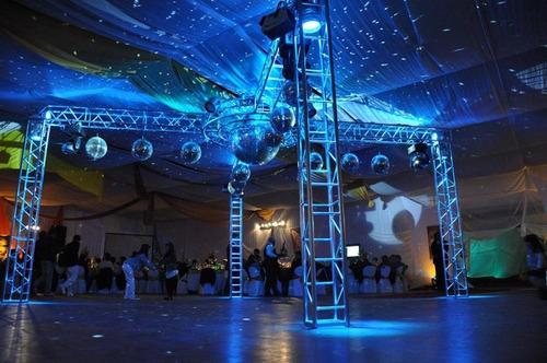 servicio profesional de dj / sonido, iluminacion y pantalla