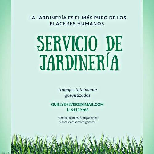 servicio profesional de jardinería