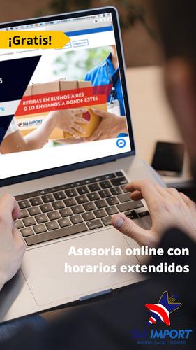 servicio puerta a puerta entre estados unidos y argentina.