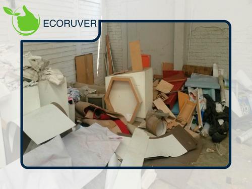 servicio: recolección de basura, madera y desperdicio ind.