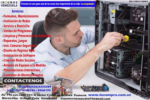 servicio reparación, computador