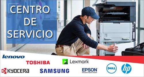 servicio reparación impresoras.