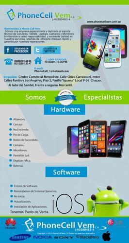 servicio reparación iphone