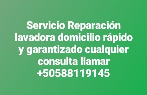 servicio reparación lavadora domicilio  llamar 88119145