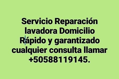 servicio reparación lavadora y refrigeración 88119145
