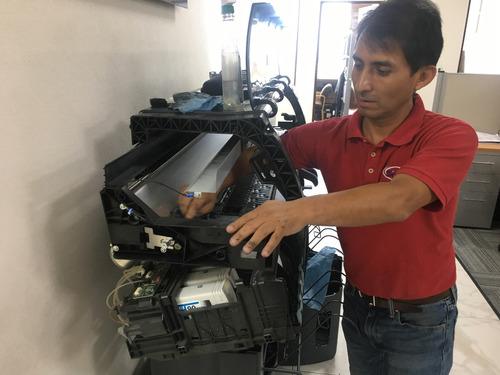 servicio reparacion mantenimiento refacciones plotters hp