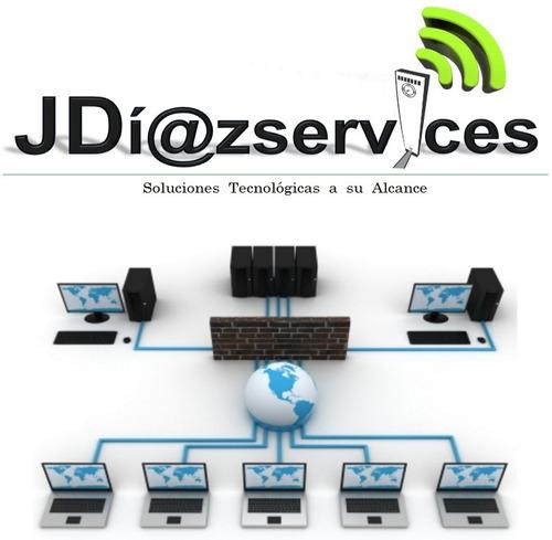 servicio reparacion pc computadoras laptop redes wifi y lan