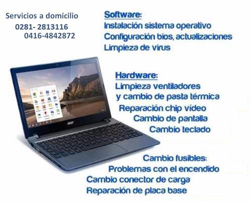 servicio reparacion pc lapto  domicilio lecheria - 2813116