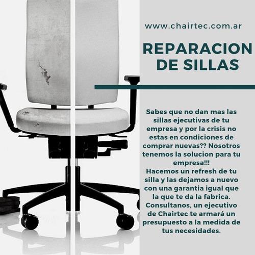 servicio reparacion -tapizado sillas y sillones de oficina
