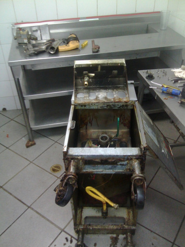 servicio, reparación y mant. de freidoras cocinas hornos y +