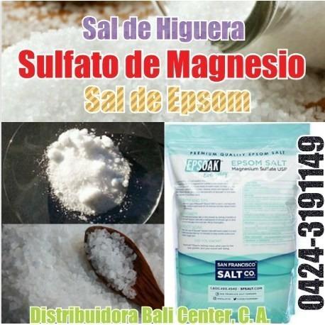 servicio sal de higuera sal epsom epson sulfat de magnesi