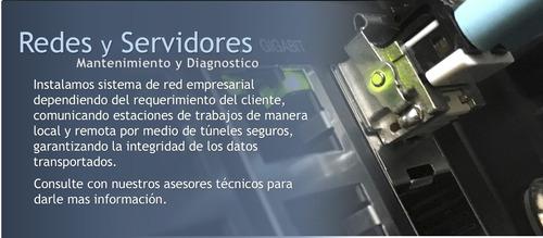 servicio servidores, redes,