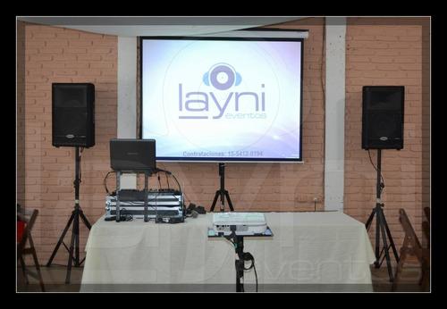 servicio sonido iluminacion eventos