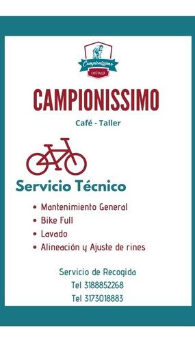servicio taller bicicletas