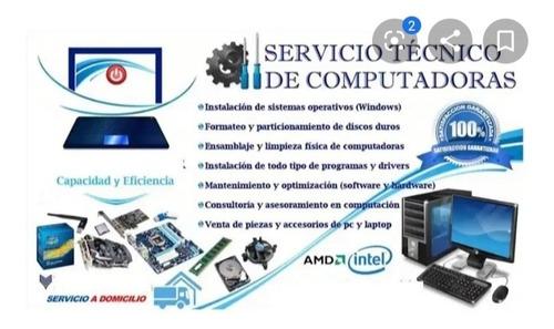 servicio tecnico a computadoras